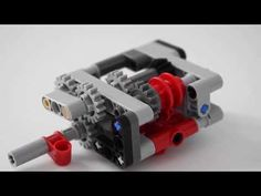 LEGO Automatic Gearbox with Speed Locking + INSTRUCTIONS - YouTube