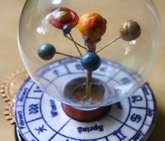 Make your own mini revolving solar system