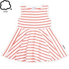 SIGNATURE STRIPE ECO SUMMER TWIRL DRESS (BABY)