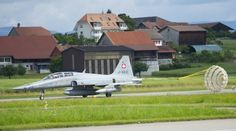 Swiss air force Northrop F 5 Tiger 2 seater.