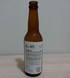 Cerveja De Molen Rye IPA Legacy, estilo India Pale Ale (IPA), produzida por Brouwerij de Molen, Holanda. 6.6% ABV de álcool.