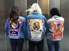 The Cool London Denim Jackets That Let You Wear Your Heart on Your Back
