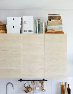 IKEA has top of kitchen cabinet ideas like an art gallery. Choose ...