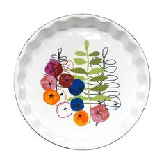Naczynie żaroodporne na tartę (kwiaty) Sagaform