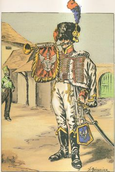 Grand Duchy of Warsaw; Guides du Marechal Poniatowsky. Trumpeter