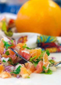 Cara cara orange salsa Fresh, vibrant, and full of phytonutrients, this citrus infused salsa will get…