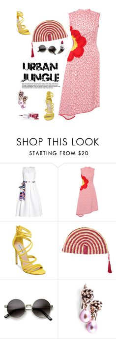 """""""Untitled #335"""" by craftsperson ❤ liked on Polyvore featuring Emilio Pucci, Steve Madden, Eloquii, ZeroUV and coffeebreak"""