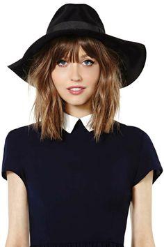 Jasmine Floppy Hat $58
