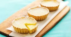 These miniature lemon tarts make a truly special dessert, and you might be surprised by how easy they are to whip up.