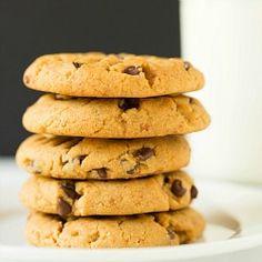 Peanut Butter-Pretzel Chocolate Chip Cookies via @browneyedbaker