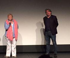 Christina Noble et Stephen Bradley. Rencontre au SEL lors de l'avant-première du film, très émouvant, joué par Deirdre O'Kane. Félicitations !