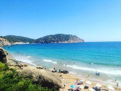 Cala Aigues Blanques, north east Ibiza