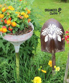 Old Shovel Garden Signs & Art organizedclutter.net