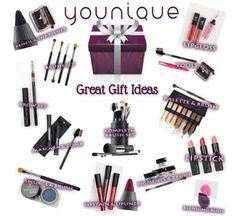 Christmas is right around the corner and Younique would be perfect for your mom, sister, best friend, boss, 2nd cousin twice removed...etc. These items would go great in a stocking or wrapped under the tree. Don't stress about Secret Santa either because we've got you covered!   Check it out!   www.bebeautifulwithbrittany.com  #younique