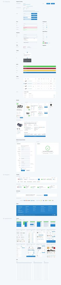 UI Style Guide for E-commerce Site