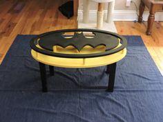 Handmade Batman Coffee Table DC Comics Dark by SuperHeroWithin