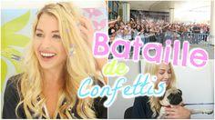 BATAILLE DE CONFETTIS ♡