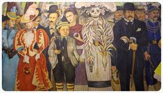 Diego Rivera Mural with Frida