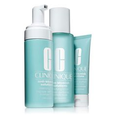 Clinique Anti-Blemish Solutions 3-Step System - The best range for blemish prone skin, hands down!