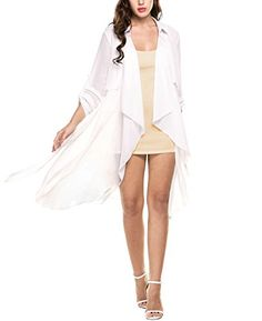 New Trending Formal Dresses: Zeagoo Women Casual Long Sleeve Solid Trench Coat Cardigan with Belt (X-Large, White). Zeagoo Women Casual Long Sleeve Solid Trench Coat Cardigan with Belt (X-Large, White)   Special Offer: $34.99      411 Reviews Brand:ZEAGOO Feature: 100% Brand New. Material:65% Polyester, 35% Spandex 2 Colors: White, Black Collar: Turn-down Collar Sleeve: Long Sleeve Style: Casual...