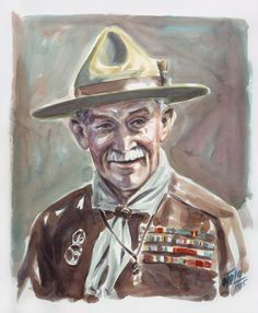 Baden-Powell Cub Scouts, Girl Scouts, Robert Baden Powell, Wood Badge, Camping Photo, Old Maps, Girl Guides, Best Memories, Harley Quinn