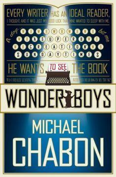 Wonder Boys by Michael Chabon, http://www.amazon.co.uk/dp/B009BZ6JGO/ref=cm_sw_r_pi_dp_V42Gsb03M6RVH