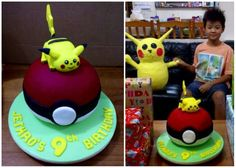 Pikachu - Pokemon Cake for my Boy
