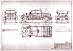 Kübelwagen blueprint