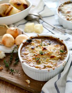 Trying to fend off the flu? Already sick and looking for a recipe to soothe your symptoms? Try this comforting & delicious French Onion Soup!
