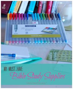 absolute favorite Bible study supplies, you may find you NEED these, too!