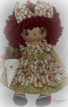 Christmas Tussy Mussy Annie by charmingsbycmh