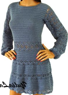 Crochet Clothes, Knit Dress, Crochet Projects, Knit Crochet, Shorts, Knitting, My Style, Womens Fashion, Dresses