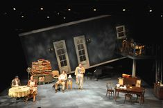 Uncle Vanya. Yale School of Drama. Scenic design by Jung Griffin.