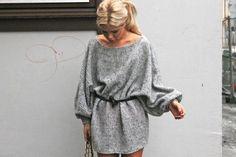 Sweater dresses <3