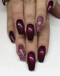 26+ Ideas To Christmas Nails Gel Glitter Sparkle 44
