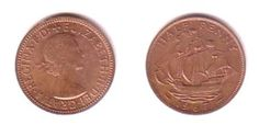GB Halfpenny Coin pre decimal from 1920s to 1960s available at great prices