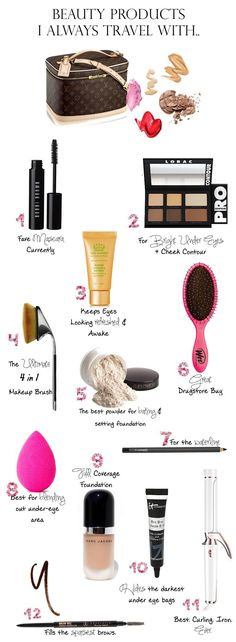 12 Beauty Products I Don't Travel Without | The Sweetest Thing | Bloglovin'