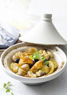Tajin Recipes, My Recipes, Healthy Recipes, Healthy Food, Couscous, Lemon Kitchen, Ras El Hanout, Fish And Meat, Oriental Food