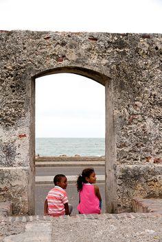 """""""People of Cartagena"""", Cartagena, Colombia."""