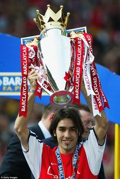 Former Arsenal midfielder Robert Pires has retired from football at the age of Pires, who was also a France international, spent six successful years with the Gunners, winning two Premier League titles Arsenal Football Team, Arsenal Players, Arsenal Fc, Football Tops, Uk Football, Soccer Skills, Soccer Tips, Arsenal Wallpapers, English Premier League