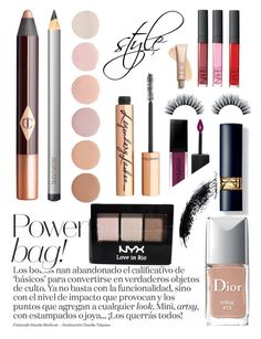 """makeup bag"" by shoam09 ❤ liked on Polyvore featuring beauty, Christian Dior, Charlotte Tilbury, Smashbox, Deborah Lippmann, NYX, Laura Mercier, contestentry, PVStyleInsiderContest and makeupbagstaples"
