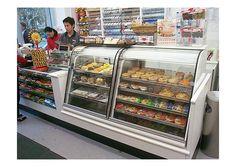 7-Eleven convenience store by Minale Tattersfield, via Flickr Supermarket Design, Retail Store Design, Retail Shop, Cashier Counter Design, Convinience Store, Reception Counter Design, Grocery Checklist, Tienda Natural, Bakery Shop Design