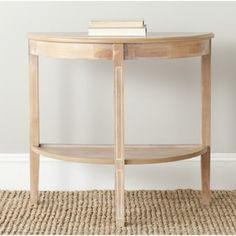 Safavieh Amos Honey Natural Console | Overstock.com Shopping - Great Deals on Safavieh Coffee, Sofa & End Tables
