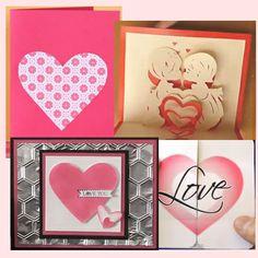 Video tutorials per card di San Valentino