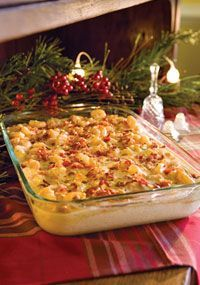 shrimp-and-grits casserole - for a crowd-wow this looks like an easy fix for my favorite dish! Going to try for dinner one night!