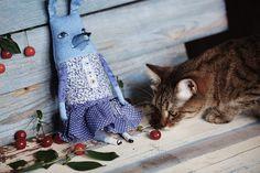 ГЛАЗА ГОЛУБОЙ СОБАКИ #cobalt #blue #glassware #beautiful #paint #cat #cherry #dog #dogs #artdoll #handmade #russia #россия #собака #маркес #кукла #синий #голубой