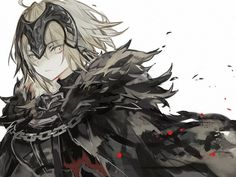 Fantasy Character Design, Character Art, Jeane D Arc, Joan Of Arc Fate, Fate Jeanne Alter, Type Moon Anime, Tanya The Evil, Fate Servants, Matou