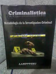 Resultado de imagen para libro de criminalistica