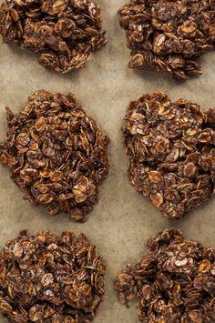 No-Bake Oatmeal Chocolate Cookies