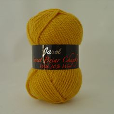Jarol Sweet Briar Chunky is a standard weight Chunky with 30% Wool. It can be used with any standard chunky patterns and is machine washable at 30 degrees.